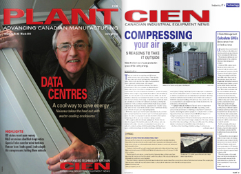 Canadian Plant Magazine - AirCell Air Compressor Installations