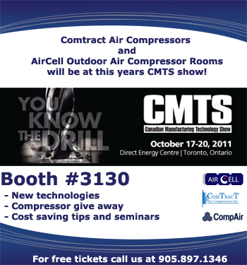 Canadian Manufacturing Technology Show - AirCell booth 3130
